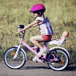 Faire du vélo sans les petites roues, un vrai jeu d'enfant!