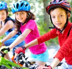 Le vélo, c'est bon pour les enfants !