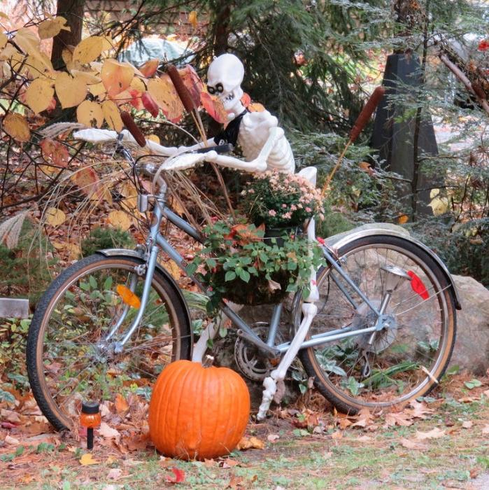 Halloween à vélo !