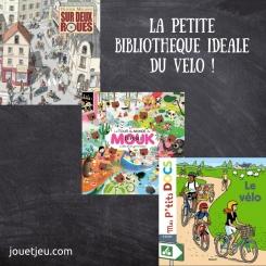 La petite bibliothèque idéale du vélo #1