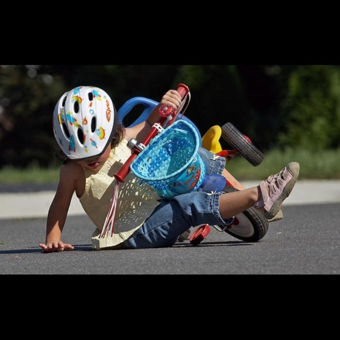 Le casque à vélo, une obligation !
