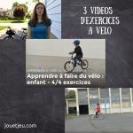 3 vidéos d'exercices à vélo