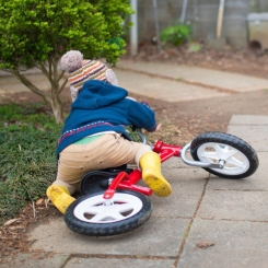 Comment se remettre en selle (de vélo) après une chute ?